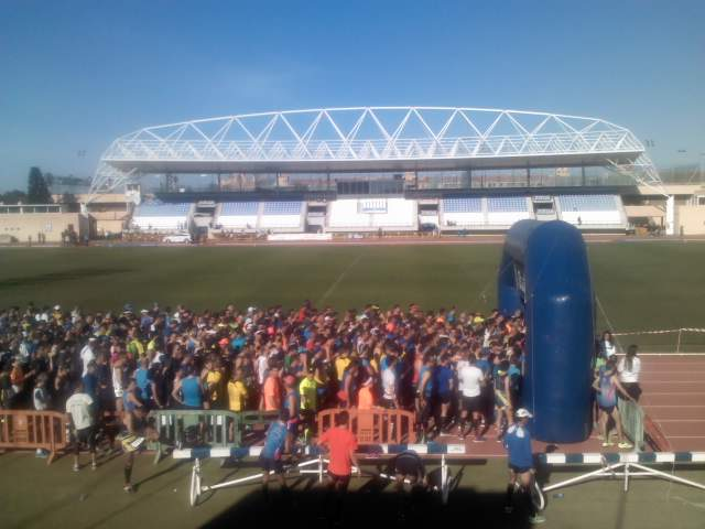 MM-2016 Salida Estadio Iberoamericano SFdo
